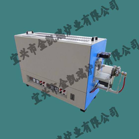 管式 高温真空炉 实验室电炉 小型 旋转 管式加热炉 加热电炉图片