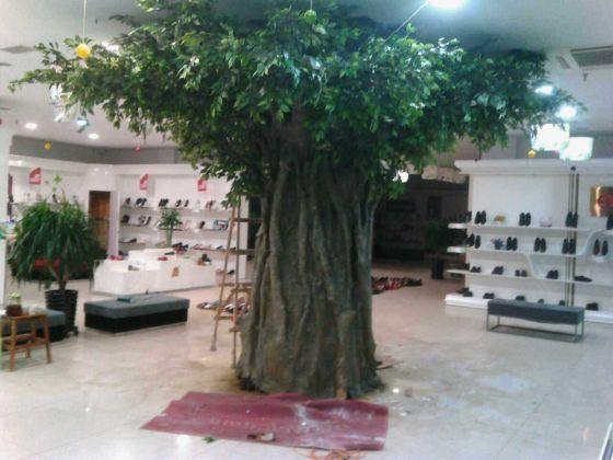 产品列表 模拟植物 > 玻璃钢杆室内室外模拟榕树    收藏产品 qq空间