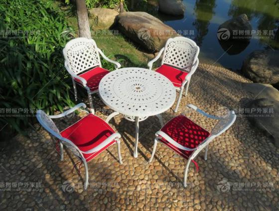 户外家俱 铁艺桌椅 阳台庭院桌椅