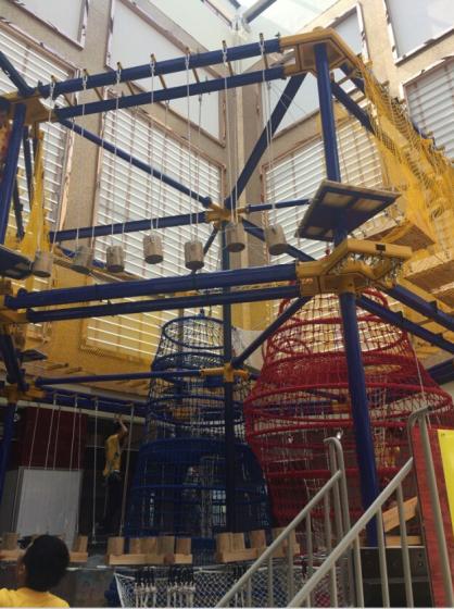 淘气堡室内儿童乐园拓展训练设备高空探险器材大型游乐场设施厂家