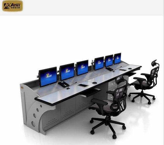 调度控制台铁路局监控中心控制台操作台包皮视频套扎图片