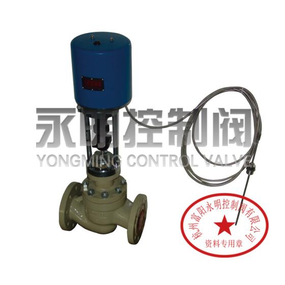 zzwpe自力式电动pid控制温度调节阀,一体式电动恒温型图片