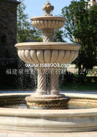 工艺品 雕刻和雕塑品 石雕 水景喷泉,跌水钵,喷水池,水钵,水珐  产品图片