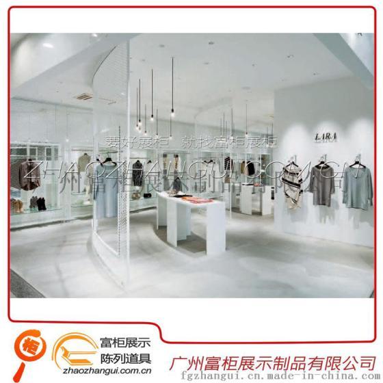 商场服装店欧式展柜设计定做