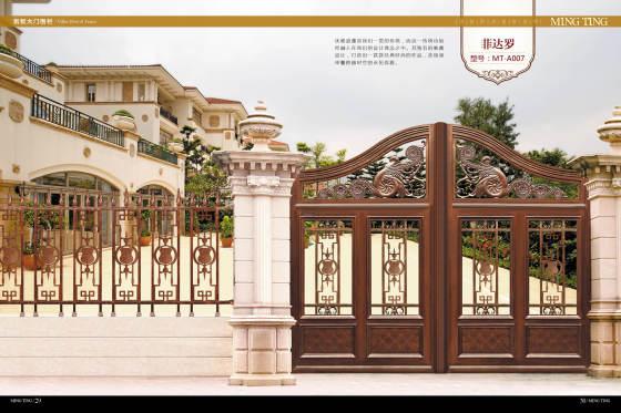 欧式庭院门 高端花园别墅大门