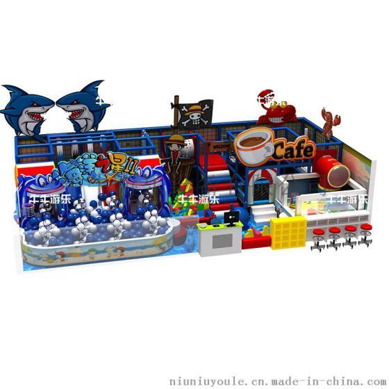 牛牛游乐 淘气堡室内儿童乐园游乐场设备 大小型拓展冒险 儿童乐园