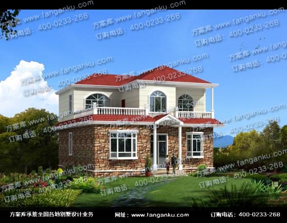 農村兩層小別墅房屋設計圖