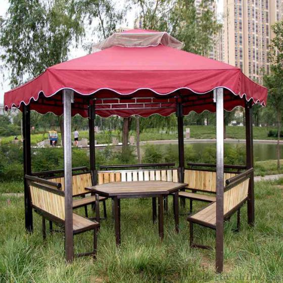 凉亭遮阳伞 欧式庭院凉亭公园