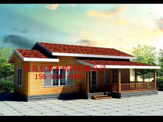 青岛木房子建造 皇家木屋设计 移动房子