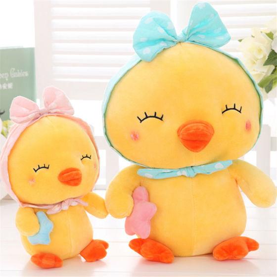 鸭子填充毛绒玩具大号儿童睡觉玩偶抱枕图片