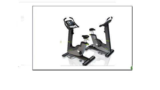健身车 工业产品外观设计 机械结构设计