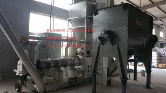 潔淨型煤粘合劑專用-預糊化澱粉膨化機