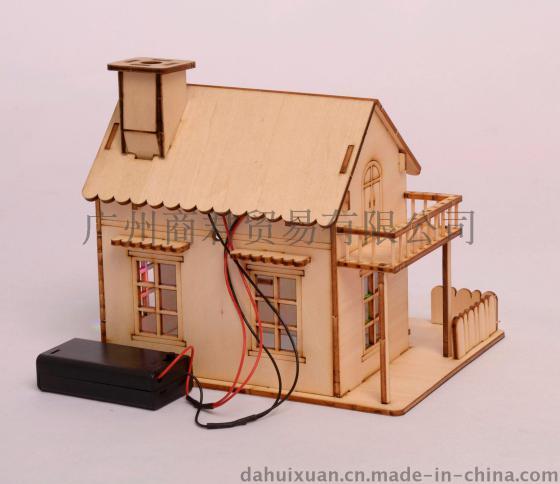 做手工建筑步骤模型