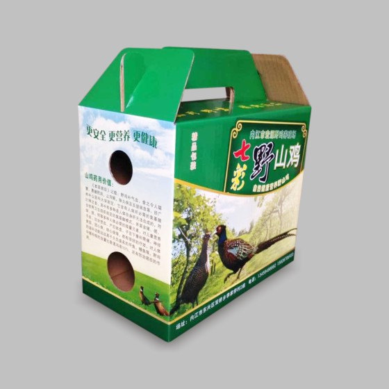 泸州包装厂/水果纸箱生产/葡萄包装盒定制/土特产包装