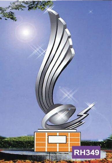 亚光不锈钢雕塑校园雕塑扬州雕塑厂家户外现代雕塑厂家直销