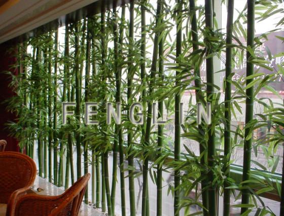 幼儿园美工区竹子装饰