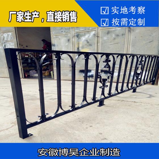 户周边墙栏杆安全围栏防护栏 欧式家居阳台花园精致金属护栏