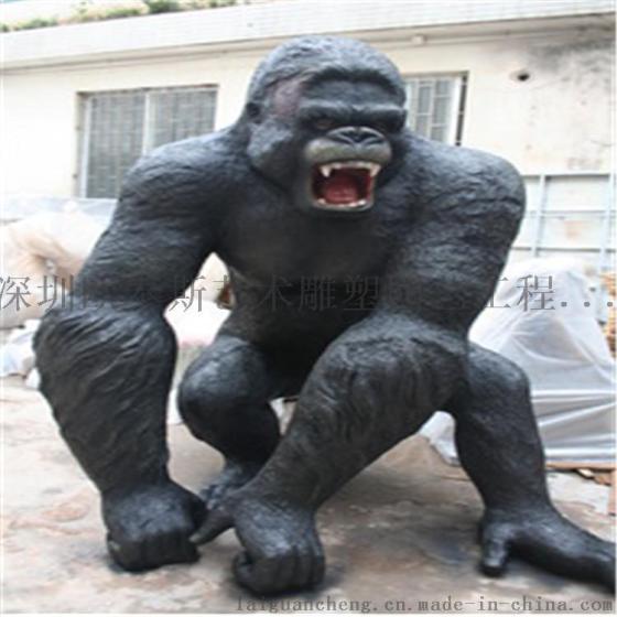 深圳欧泰斯玻璃钢艺术雕塑树脂工艺品影视动物造型大