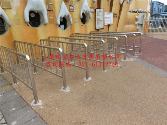 不锈钢排队护栏 售票栏杆扶手 上海景区售票栅栏制作生产厂家