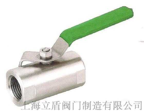 上海立盾广式内螺纹球阀,不锈钢丝扣球阀图片
