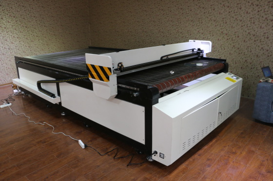 hm-1625 服装镭射裁剪机/全自动服装镭射下料机/服装电脑裁剪机图片