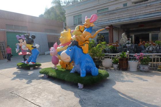 商业主题展览动物卡通雕塑