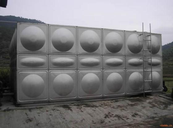供应蓄水容器圆形方形不锈钢水箱水塔深圳不锈钢生活