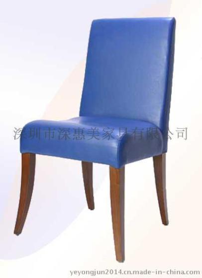 酒店餐厅欧式椅子 简约布艺时尚餐椅
