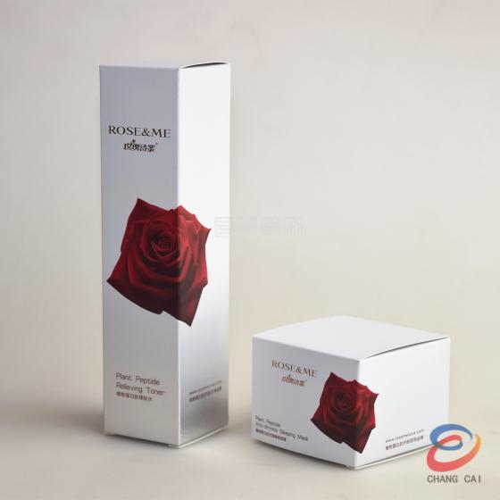 工厂热销创意化妆品包装盒广告彩印护肤品盒