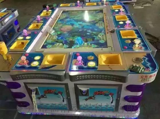 虎鹤双行大型捕鱼游戏机