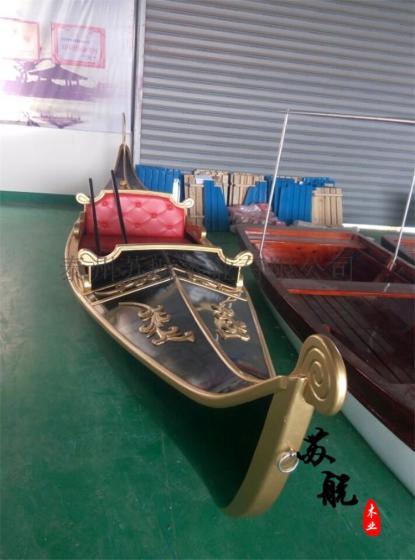 欧式景观装饰船