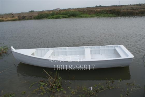 湖南河北欧式木船出售公园景区装饰船手划船一头尖小木船
