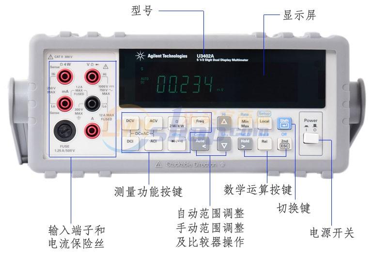 江蘇南京是德科技Keysight數位萬用
