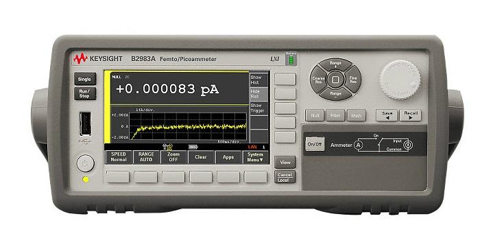 B2983A毫微微安計/皮安計技術資料